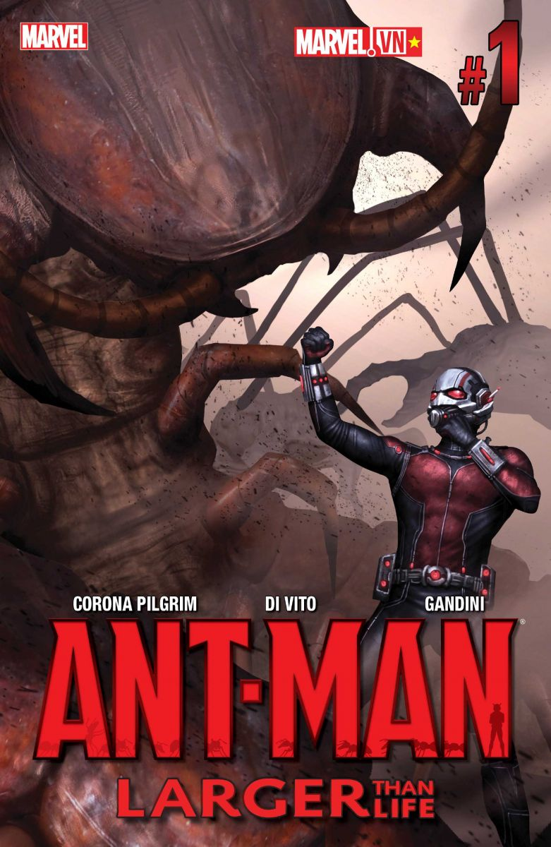 Ant-Man - Larger than Life