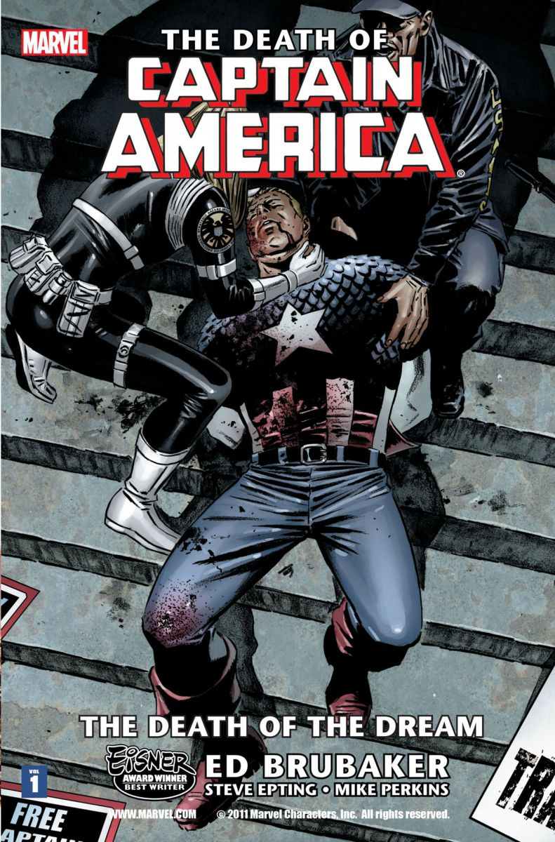 Death of Captain America (Civil War Aftermath)