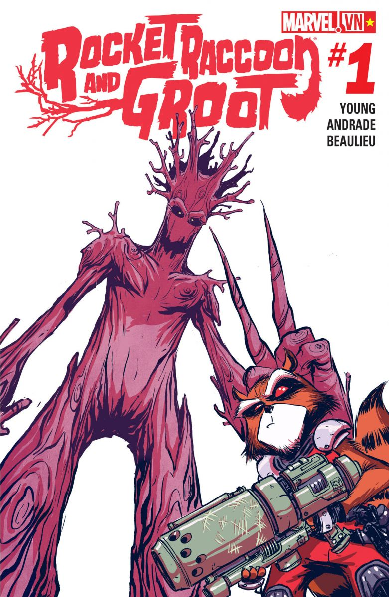 Rocket Raccoon and Groot (2016)