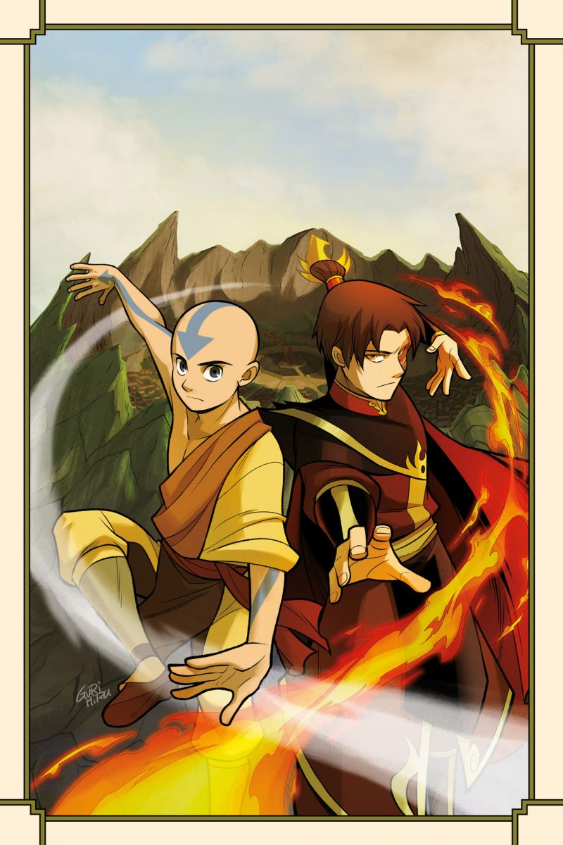 Avatar - The Last Airbender - Smoke and Shadow
