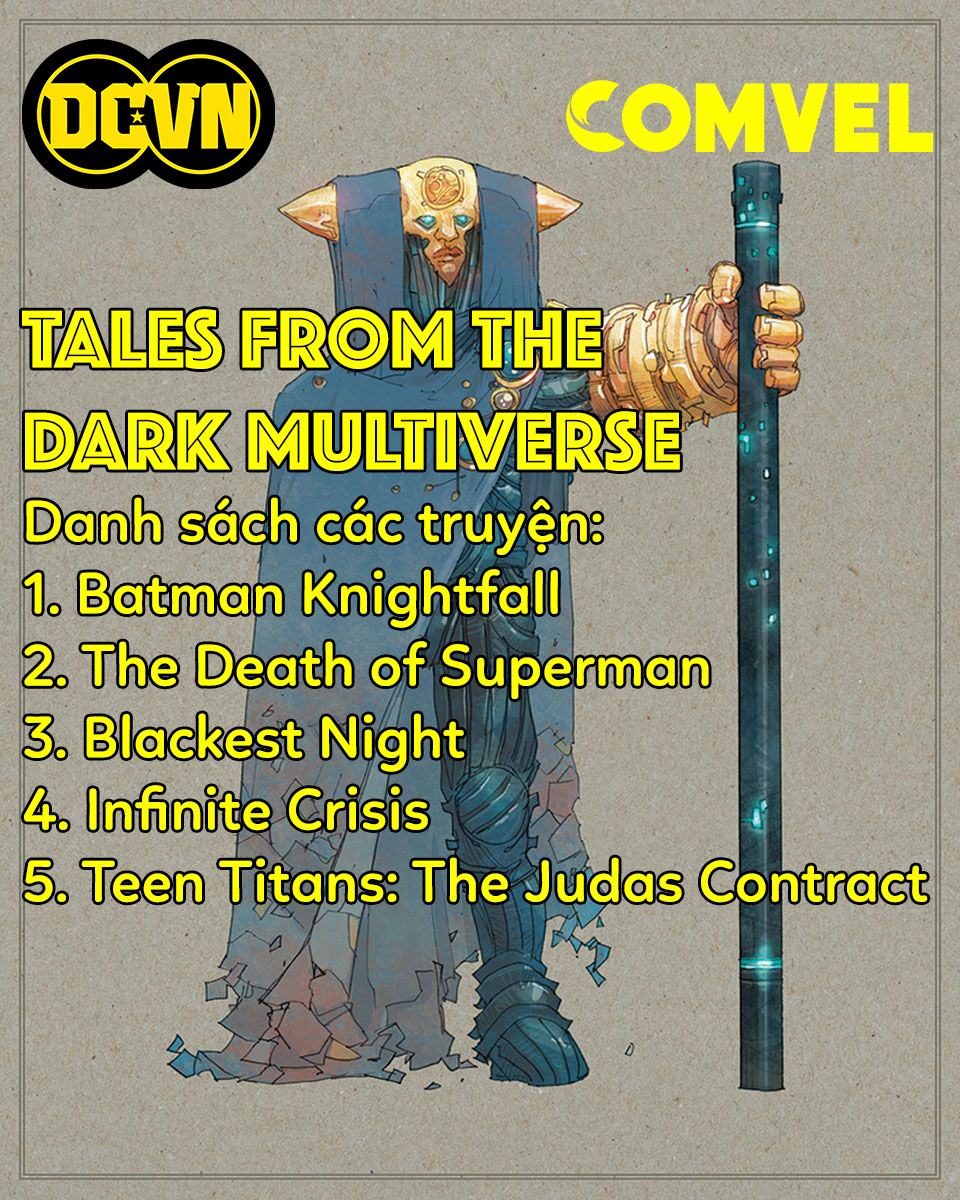 [DCVN & COMVEL] Tales from the Dark Multiverse