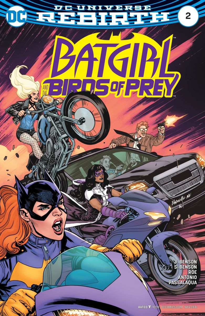 Batgirl and the Birds of Prey (2016)