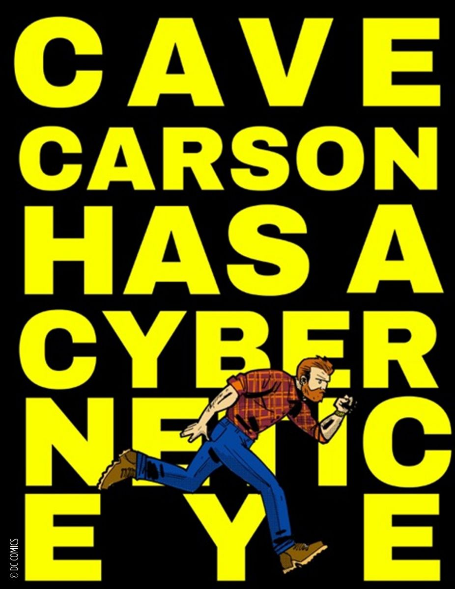 Cave Carson Has a Cybernetic Eye (2016)
