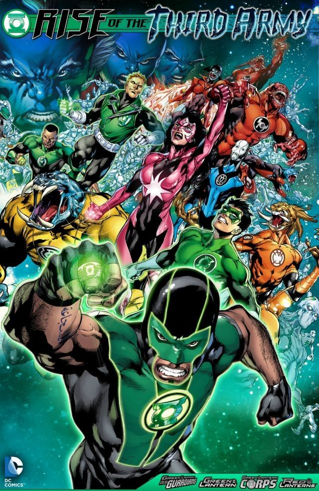 Green Lantern Rise of The Third Army