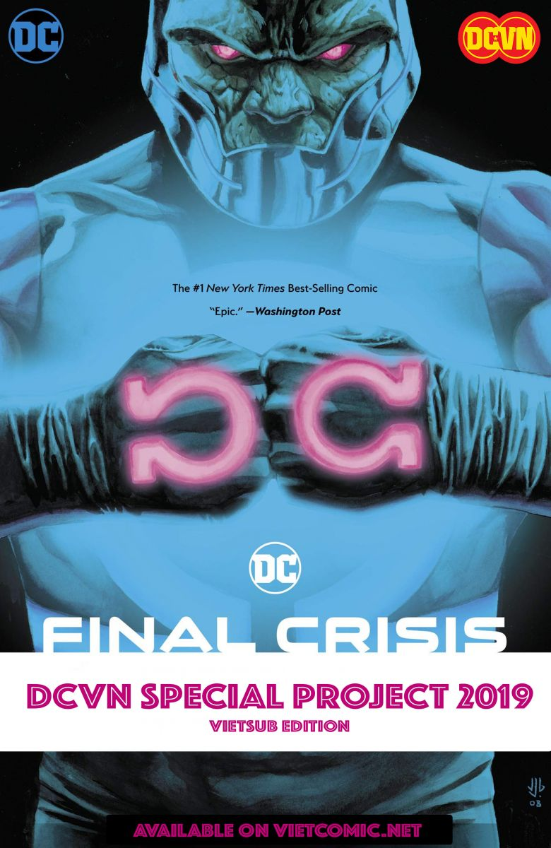 [DCVN] FINAL CRISIS - 2008 (ESSENTIAL EDITION)