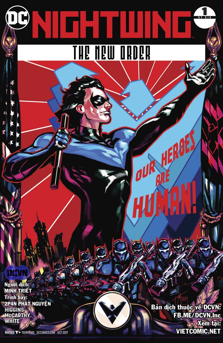 Nightwing - The New Order (2017)
