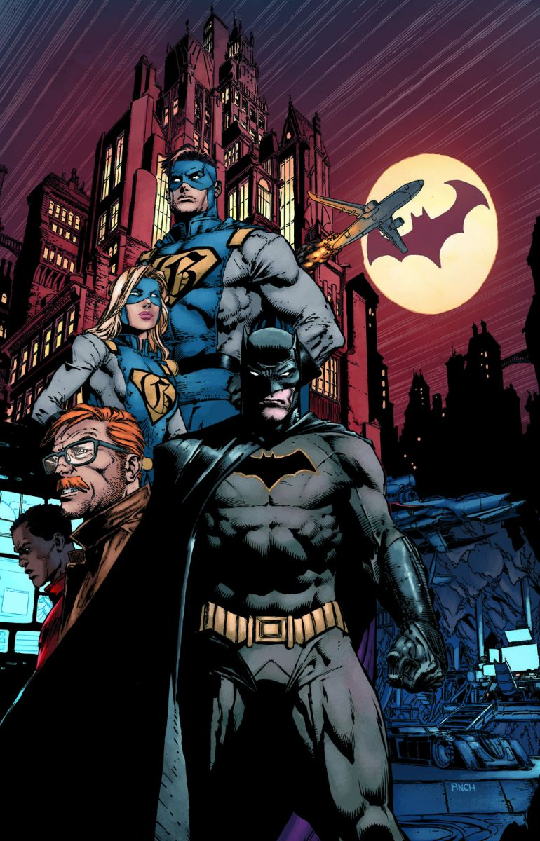 (DCVN & COMVEL) Batman Rebirth (2016)